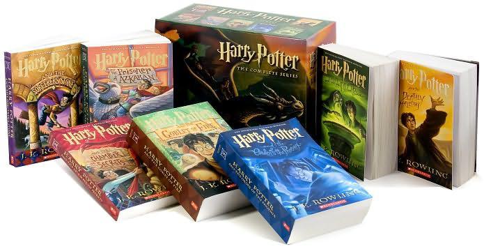 Harry Potter Paperback Boxed Set(# 1-7)