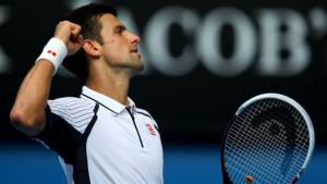 Djokovic cruises past tricky Stepanek