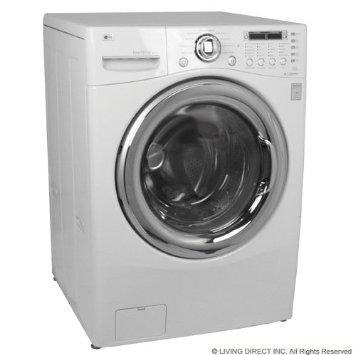 LG WM3455HS 24 Front Load Compact Washer\/Dryer Combo , 2.7 cu. ft. Capacity - Silver