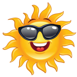Cool, heat, sun, great