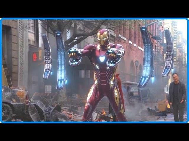 Avengers: Infinity War 2018 - Thanos Attacks New York | Best Fight Scenes [2\/5] HD Bluray