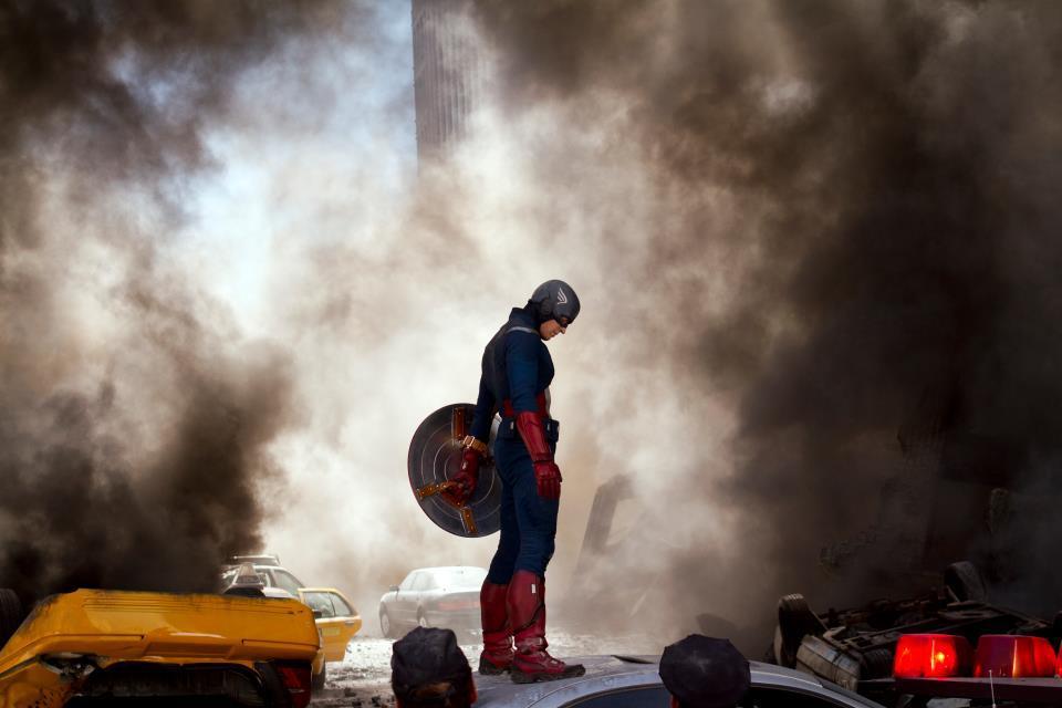 Chris Evans in The Avengers!