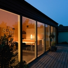 Prefabricated houses have faster construction time