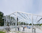 Steel structure houses can reduce disaster risk of earthquake