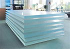 Acrylic sheet has crystal-like transparency