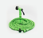 Flexible garden hose is lighter, more flexible and easier to store