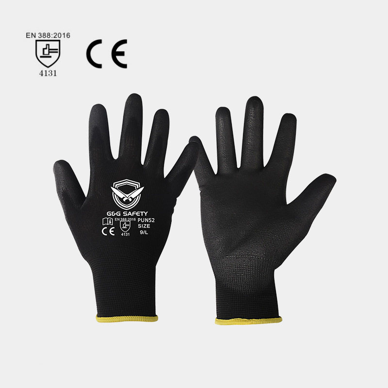 The use of PU safety gloves in life