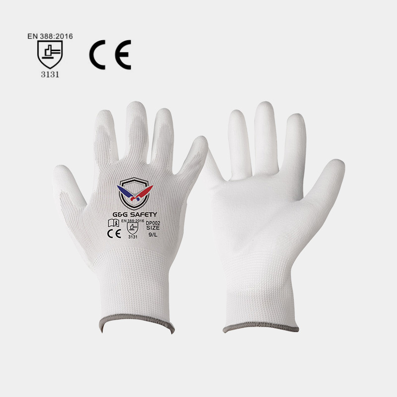 Material composition of ordinary PU safety gloves