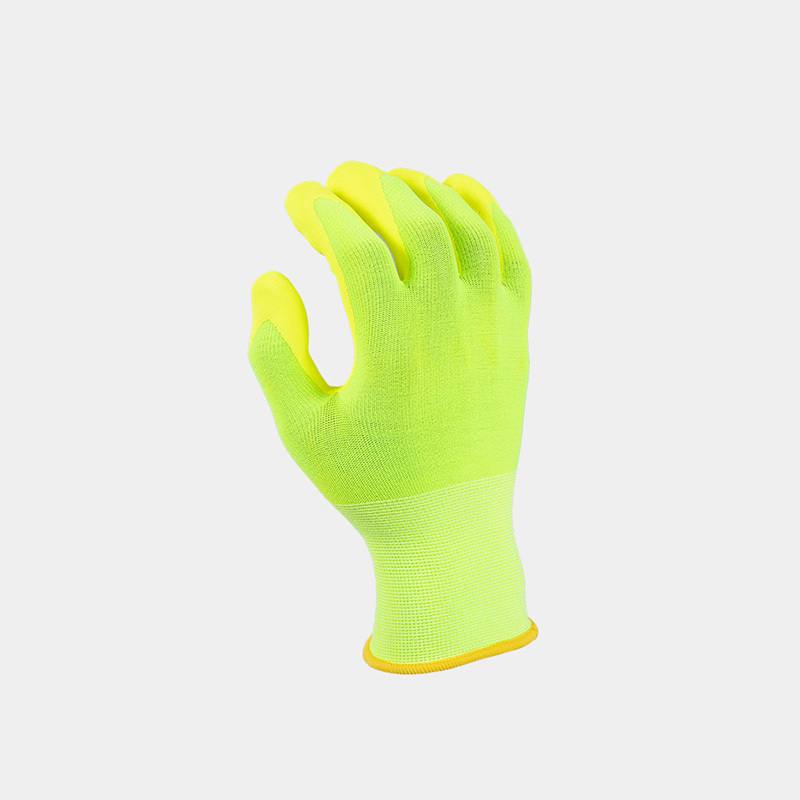 Why are nitrile gloves colorful?