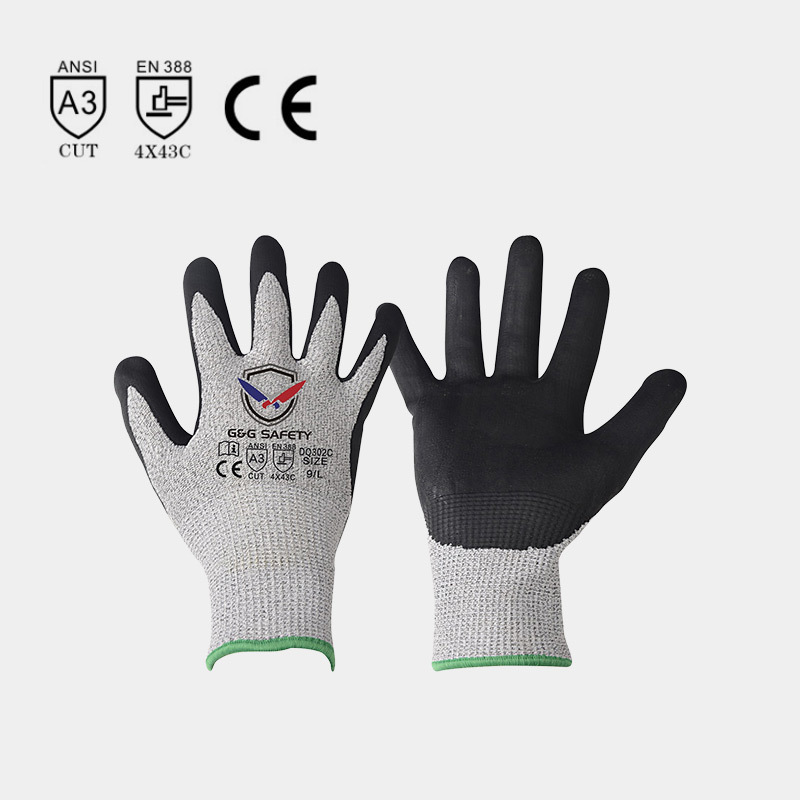 Three main materials of cut-resistant gloves
