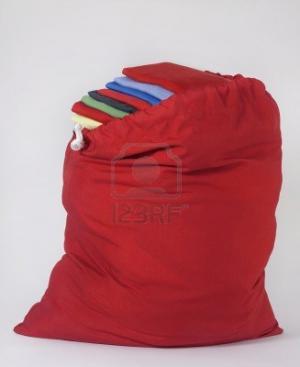 Colorful Folding Laundry Bag