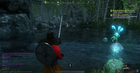 How to catch a large salmon in New World