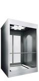 Most villa elevators are designed with manual sliding doors