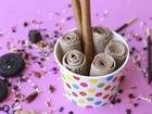 Thai Ice Cream Rolls