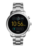 Silver-Toned Q Exploris Touchscreen Smart Watch FTW4000