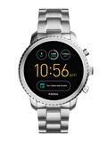 Silver-Toned Q Exploris Touchscreen Smart Watch FTW4000