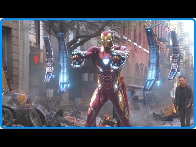 Avengers: Infinity War 2018 - Thanos Attacks New York | Best Fight Scenes [2\/5] HD Bluray
